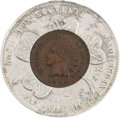 General Historic Events:Expos, Pan American Exposition: Encased Indian Head Penny....