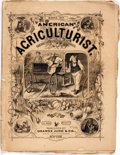Books:Periodicals, [Illustrated Periodical]. American Agriculturist, for the FarmGarden & Household. Vol. XXIX, No. 3. March, 1870. ...