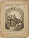 Books:Periodicals, [Illustrated Periodical, Political Cartoons]. Young Sam,Vol. I, No. 7. New York; R.J. Abbott, [n.d., circa 1853...