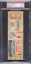 Baseball Collectibles:Tickets, 1951 World Series Game 5 Full Ticket - DiMaggio's Next to LastGame. ...