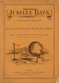 Books:Periodicals, [Bound Periodical, Cartoons]. Jubilee Days, Nos. 1 - 16.June 17 - July 4, 1872. . ...