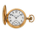 Timepieces:Pocket (post 1900), Hamilton 21 Jewel, Series 941 Hunter's Case Pocket Watch. ...