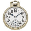 Timepieces:Pocket (post 1900), Hamilton 21 Jewel Open Face Pocket Watch. ...