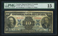 Canadian Currency: , Toronto, ON- Imperial Bank of Canada $10 Nov. 1, 1923 Ch.#375-18-06. ...