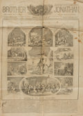 Books:Periodicals, [Illustrated Periodical, Newspaper]. Single Issue of BrotherJonathan. Quarterly yearly issue - No. 25. Christmas ...