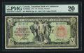 Canadian Currency: , Toronto, ON- Canadian Bank of Commerce $5 Jan. 2, 1917 Ch. #75-16-04-06a. ...