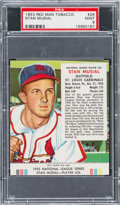 Baseball Cards:Singles (1950-1959), 1953 Red Man Tobacco Stan Musial #26 PSA Mint 9 - The Finest PSA Example! ...