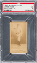 Baseball Cards:Singles (Pre-1930), 1887 N172 Old Judge Amos Rusie (#395-3) PSA EX 5. ...