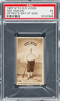 Baseball Cards:Singles (Pre-1930), 1887 N172 Old Judge Ned Hanlon, Detroit (#212-1) PSA EX 5. ...