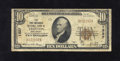 National Bank Notes:New Jersey, Trenton, NJ - $10 1929 Ty. 1 The First-Mechanics NB Ch. # 1327 This bank was able to ride out the Great Depression leav...