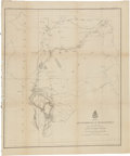 Militaria:Ephemera, Custer & the Black Hills Expedition: An Official U. S. Army Map Showing the Results of the Reconnaissance....