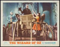 "The Wizard of Oz (MGM, R-1955). Lobby Card (11"" X 14""). Fantasy"