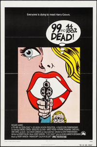 "99 and 44/100% Dead (20th Century Fox, 1974). One Sheet (27"" X 41"") Style A. Crime"