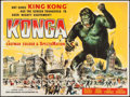 "Movie Posters:Science Fiction, Konga (Anglo Amalgamated, 1961). British Quad (30"" X 40""). ScienceFiction.. ..."