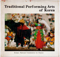 Books:Art & Architecture, [Art]. Traditional Performing Arts of Korea. Korean National Commission for Unesco, 1975....