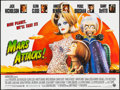 "Movie Posters:Science Fiction, Mars Attacks! (Warner Brothers, 1996). British Quad (30"" X 40"") DS.Science Fiction.. ..."