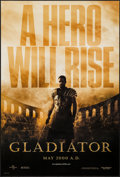 "Movie Posters:Action, Gladiator (Universal, 2000). One Sheet (27"" X 41"") DS Advance.Action.. ..."