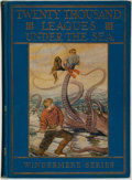 Books:Children's Books, Jules Verne. Twenty Thousand Leagues Under the Sea. Chicago:Rand McNally & Company, [1922]....
