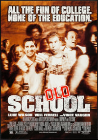 "Old School & Other Lot (DreamWorks, 2003). One Sheets (2) (27"" X 40"") DS Regular & Advance. Comedy..."