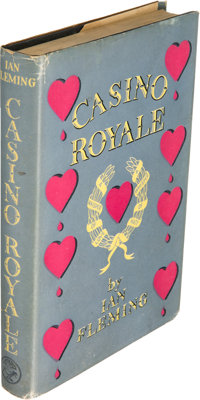 Ian Fleming [ James Bond ]. Casino Royale. London: Jonathan Cape, [1953]. First edition, fir