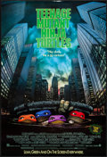 """Movie Posters:Action, Teenage Mutant Ninja Turtles (New Line, 1990). One Sheet (27"""" X 40"""") SS. Action.. ..."""