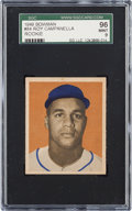 Baseball Cards:Singles (1940-1949), 1949 Bowman Roy Campanella #84 SGC 96 Mint 9 - None Higher....