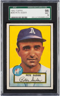 Baseball Cards:Singles (1950-1959), 1952 Topps Pete Suder #256 SGC 96 Mint 9 - The Finest In an SGCHolder! ...