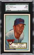 Baseball Cards:Singles (1950-1959), 1952 Topps Turk Lown #330 SGC 88 NM/MT 8 - The Finest SGC Example!...
