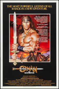 """Conan the Destroyer & Other Lot (Universal, 1984). One Sheets (2) (27"""" X 41""""). Action. ... (Total: 2 I..."""