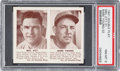 Baseball Cards:Singles (1940-1949), 1941 R330 Double Play Ott/Young #31/32 PSA NM-MT 8. ...