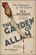 "Movie Posters:Drama, The Garden of Allah (MGM, 1927). One Sheet (27"" X 41""). Drama.. ..."