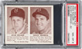 Baseball Cards:Singles (1940-1949), 1941 R330 Double Play Walker/Medwick #21/22 PSA NM-MT 8 - Pop Two, None Higher. ...