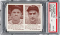 Baseball Cards:Singles (1940-1949), 1941 R330 Double Play Campbell/Boudreau #131/132 PSA Mint 9 - PopOne, None Higher. ...