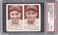 Baseball Cards:Singles (1940-1949), 1941 R330 Double Play Crosetti/Strum #113/114 PSA Mint 9 - PopThree, None Higher. ...