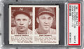 Baseball Cards:Singles (1940-1949), 1941 R330 Double Play Priddy/Murphy #109/110 PSA Mint 9. ...