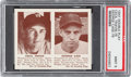 Baseball Cards:Singles (1940-1949), 1941 R330 Double Play Travis/Case #75/76 PSA Mint 9 - The Finest PSA Example!...