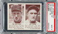 Baseball Cards:Singles (1940-1949), 1941 R330 Double Play Ted Williams/Tabor #57/58 PSA Mint 9 - TheHighest Graded Example! ...