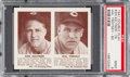 Baseball Cards:Singles (1940-1949), 1941 R330 Double Play Keltner/Trosky #79/80 PSA Mint 9 - Pop One ,None Higher! ...