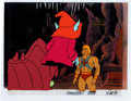 Animation Art:Production Cel, He-Man and the Masters of the Universe Battle Cat, Orko, andHe-Man Production Cel and Animation Drawing Group of 5 (F...(Total: 6 Items)