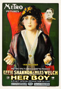 "Movie Posters:Drama, Her Boy (Metro, 1918). One Sheet (28"" X 41"").. ..."
