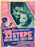 """Movie Posters:Hitchcock, The 39 Steps (Gaumont, R-1943). Poster (30"""" X 40"""").. ..."""