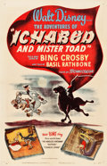 "Movie Posters:Animation, The Adventures of Ichabod and Mr. Toad (RKO, 1949). One Sheet (27.25"" X 41"").. ..."