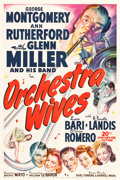 """Movie Posters:Musical, Orchestra Wives (20th Century Fox, 1942). One Sheet (27.5"""" X41.25"""").. ..."""