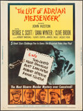 """Movie Posters:Mystery, The List of Adrian Messenger (Universal, 1963). Poster (30"""" X 40""""). Mystery.. ..."""