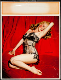 """Marilyn Monroe """"The Lure of Lace"""" (Champion Line, 1955). Calendar (12"""" X 16""""). Miscellaneous"""