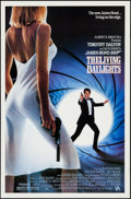 "Movie Posters:James Bond, The Living Daylights & Other Lot (United Artists, 1987). OneSheet (27"" X 41"") & Video One Sheet (25.5"" X 38""). JamesBond.... (Total: 2 Items)"