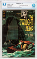 Silver Age (1956-1969):Horror, Twilight Zone #1 (Gold Key, 1962) CBCS VF+ 8.5 White pages....