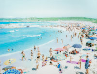 Massimo Vitali (Italian, b. 1944) Rena Majori, 2013 Dye coupler mounted on diasec 35 x 45-1/4 inc