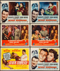 "Movie Posters:Adventure, Seven Sinners & Others Lot (Realart, R-1953). Title Card andLobby Cards (11) (11"" X 14""). Adventure.. ... (Total: 11 Items)"
