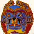 Post-War & Contemporary:Pop, Andy Warhol (American, 1928-1987). Northwest Coast Mask(from the Cowboys and Indians series), 1986.Screenprint...